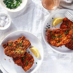 Cheater's Chicken Schnitzel
