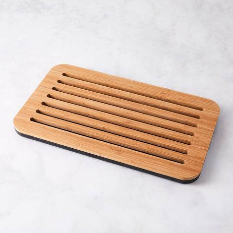 Bread Board with Removable Tray