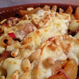 Penne Brie with Apricots
