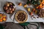 Pear and Chestnut Pie