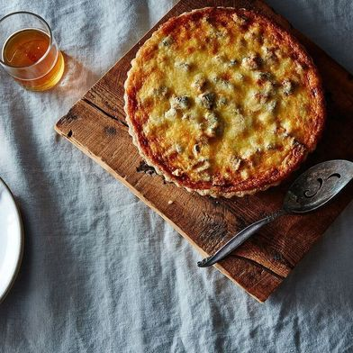 Caramelized Onion and Butternut Squash Tart