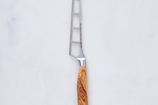 Oliva Elité Olive Wood Handled Cheese & Tomato Knife