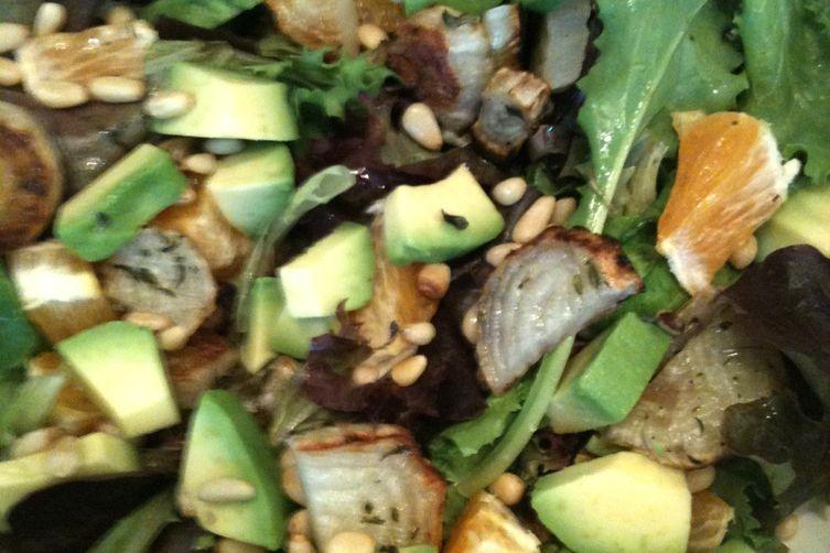 The Sweet/Savory Crunchy/Smooth Salad