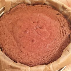 Almost Flourless Chocolate Cake