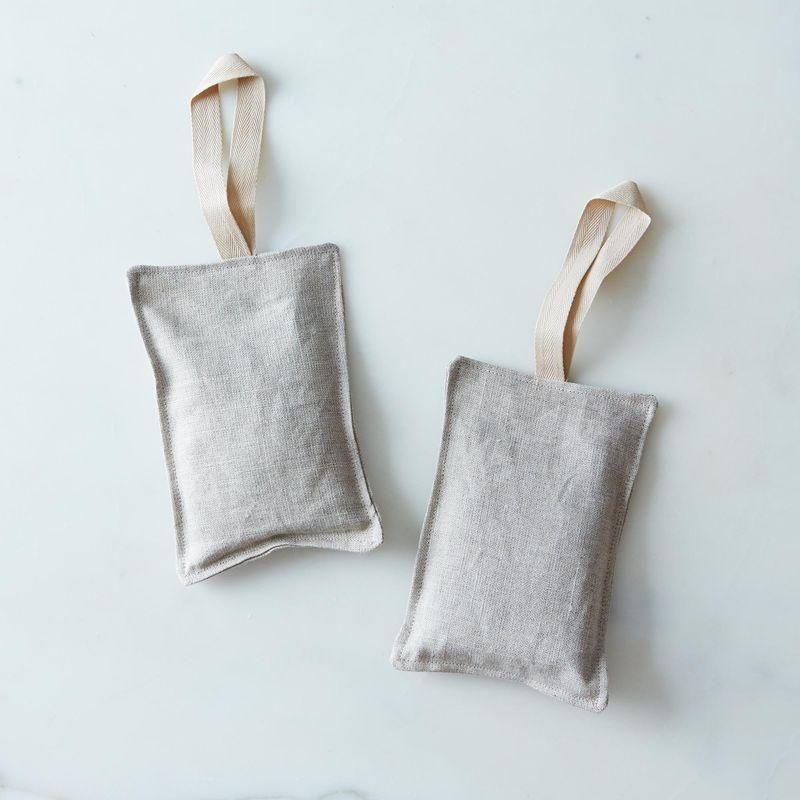 Organic Lavender Linen Sachets Silo