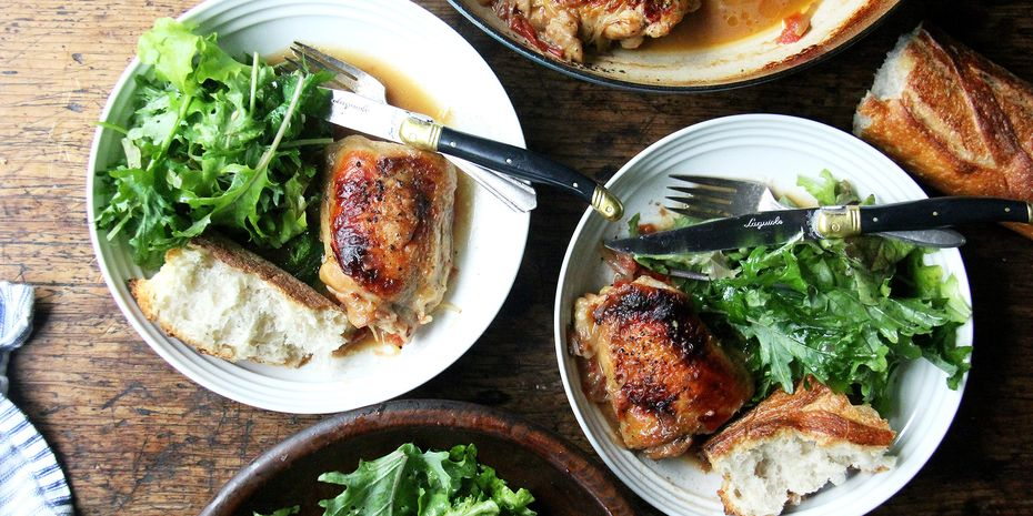 Meet poulet au *sherry* vinaigre—or any vinegar, because this is customizable.