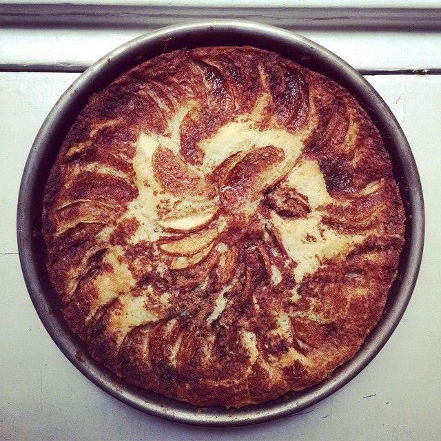 Grandmothers Of Sils' Apple-yogurt Cake Recipe — Dishmaps