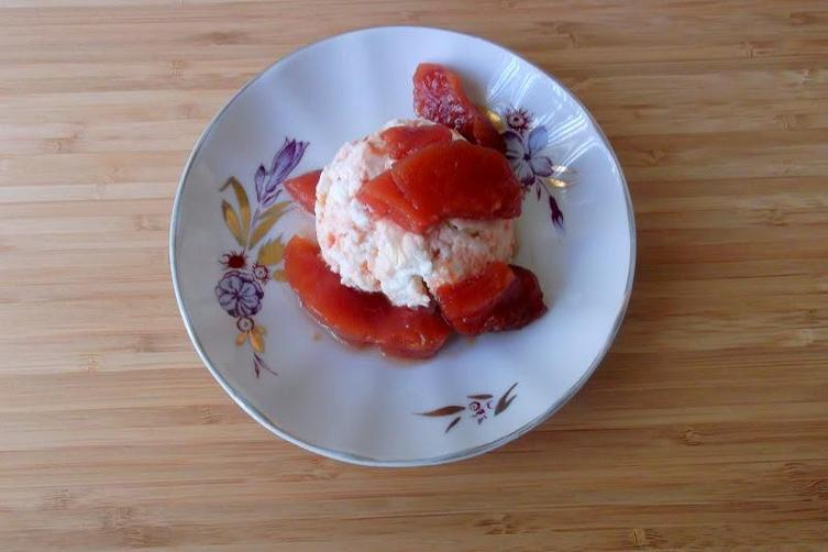 Slow Roasted Quince in Vanilla-Cinnamon Syrup