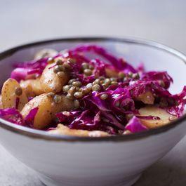 Fingerling potato salad w/mustard