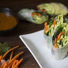 Vegetarian Summer Rolls