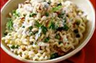 21fff4d1 a70c 44b0 83d3 7576fa5c3975  chilled pasta salad with chicken pears blue cheese and basil