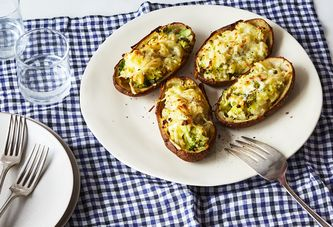 A Twice-Baked Potato That Doubles As Dinner