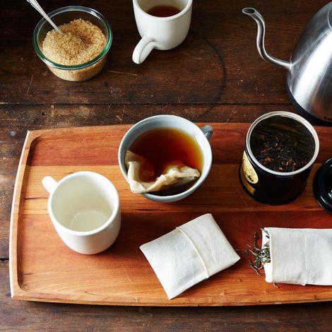 Reusable Organic Fabric Tea Bags (Set of 20)