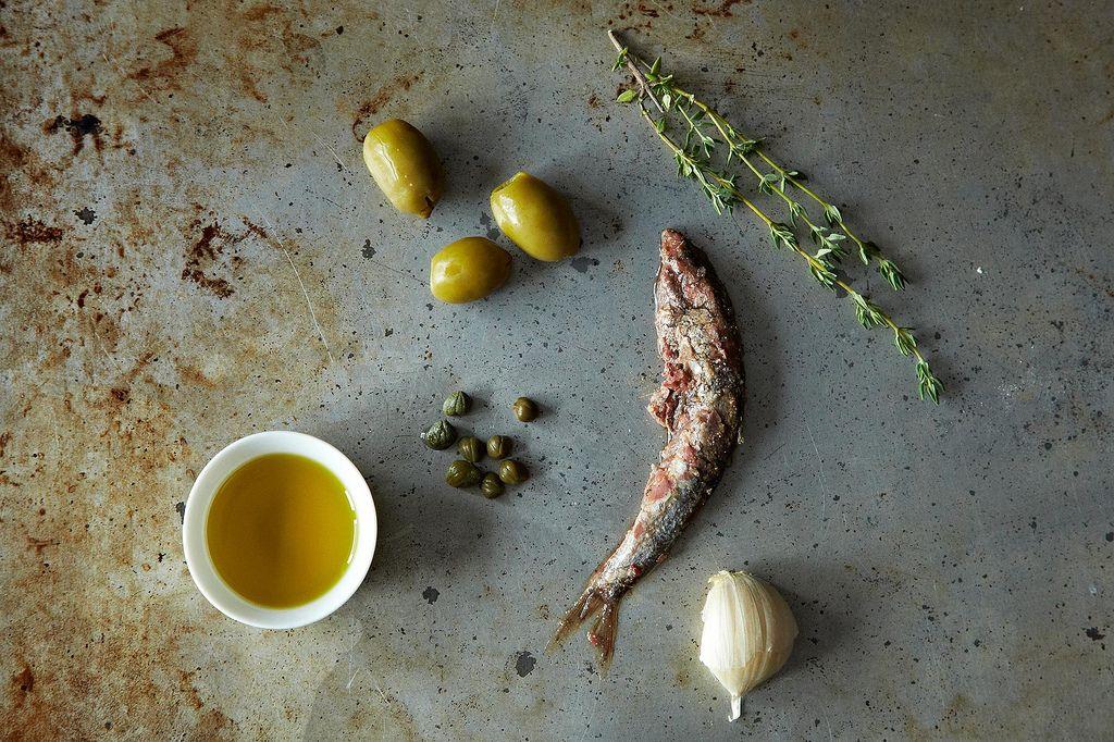 Green Olive Tapenade Ingredients