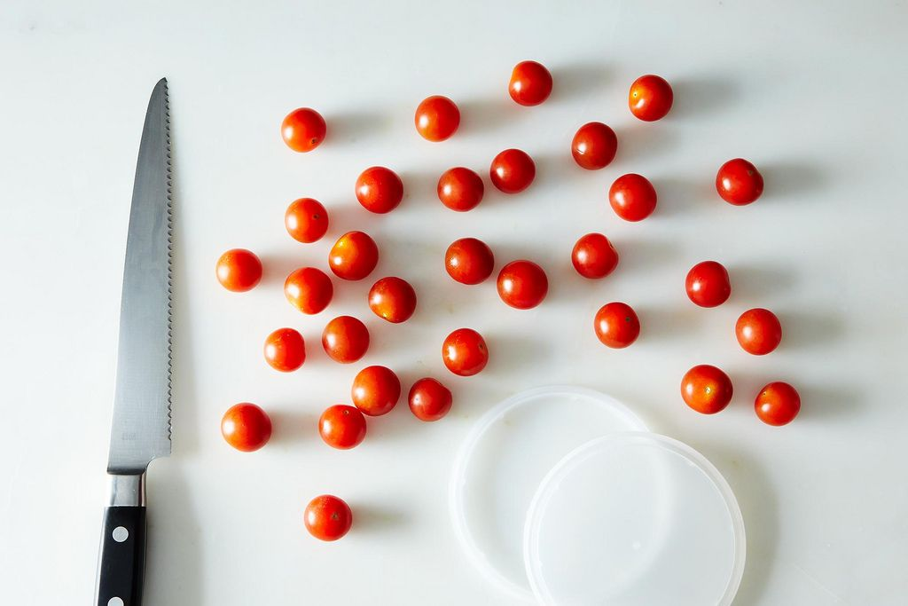 Prep Slicing Cherry Tomatoes on Food52