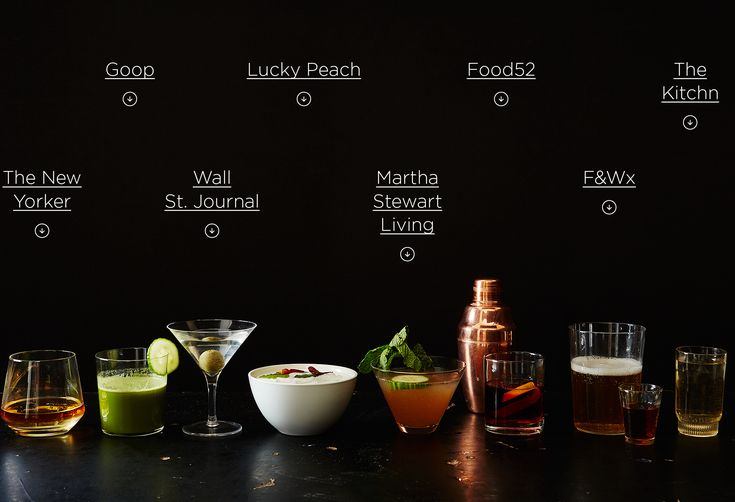 If Media Brands Were Cocktails, What Would They Be?