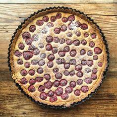 Raspberry & Vanilla Frangipane Tart