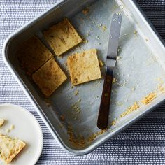 Sweet and Salty Herbed Shortbread
