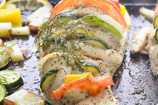 Easy and Customizable Hasselback Chicken