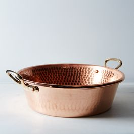 Mauviel M'passion Copper Jam Pan, 10.6QT