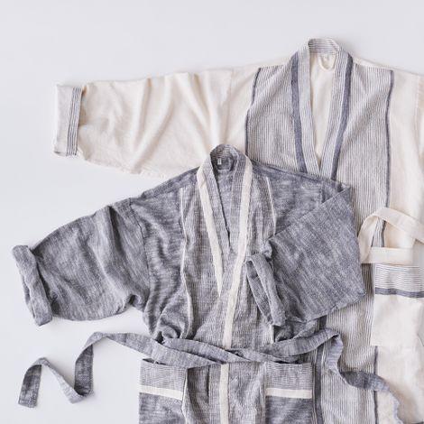 Lightweight Organic Cotton Robe