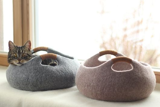 11 Cat Beds So Cool You'll Wish You Could Curl Up in Them