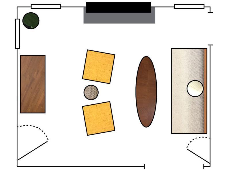 4c1d48ea 4409 434e aae4 11dec683d507  Arrangement1 Floorplan A North Carolina Living Room, 2 Ways (& Tips for Rearranging)