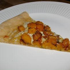 Caramelized Butternut Squash Pizza