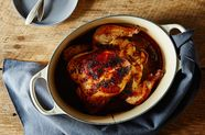Teriyaki-Roasted Chicken and Gravy