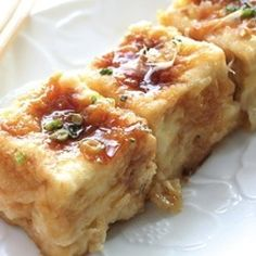 Agedashi Style Tofu