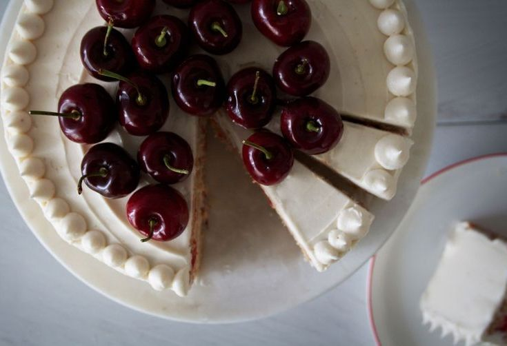 A Cherry Chip Cake Better than Boxed Mix