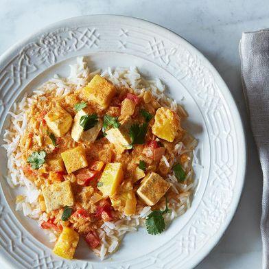 Kabocha Squash and Tofu Curry