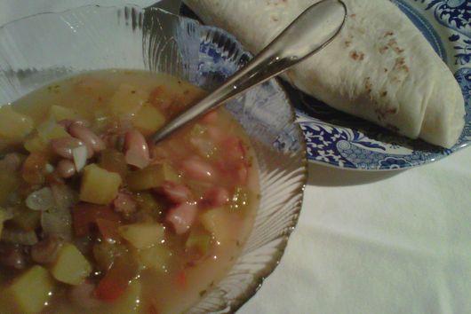 Delicata Squash and Pinto Stew