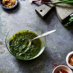A Simple Formula to Freestyle Any Bright, Zingy Green Sauce
