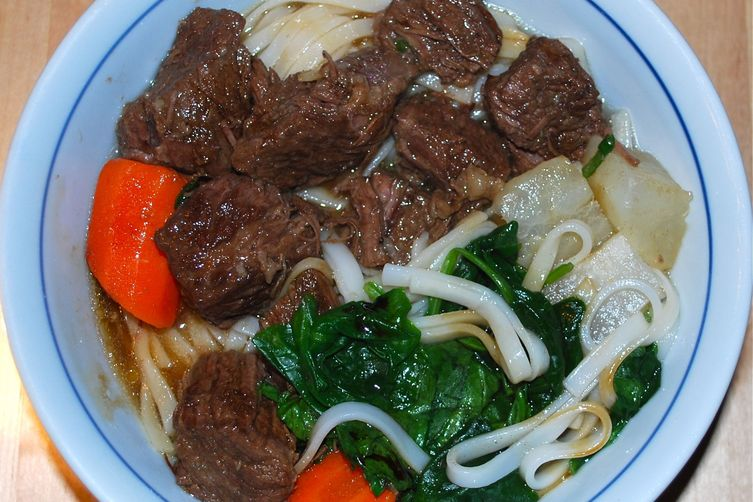 Red Roasted Asian Beef Stew