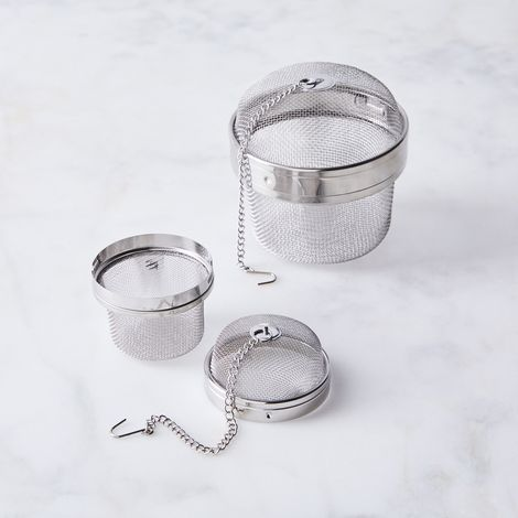 Stainless Steel Herb & Tea Infuser Ball (Set of 2)