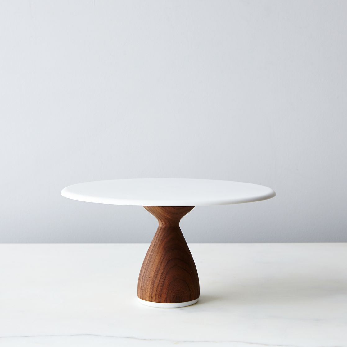Walnut Cake Stand on Food52