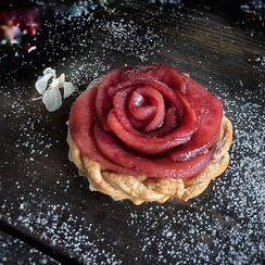 Rose Pear Tartlets