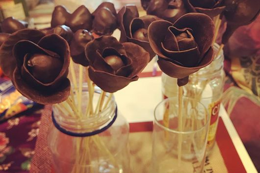 Chocolate Covered Raspberry Roses