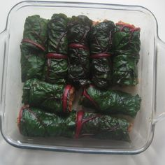 Stuffed Swiss Chard