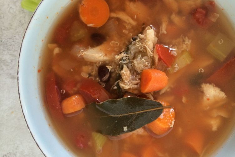 Crockpot Chicken Quinoa Soup