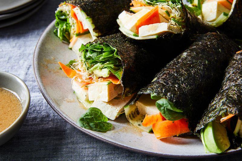 Easy Vegetable Nori Wraps