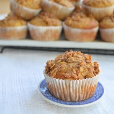 Quinoa and Apple Muffins
