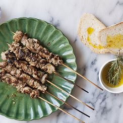 Arrosticini (Barbecued Lamb Skewers)