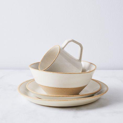 Handmade Minimal Stoneware Dinnerware