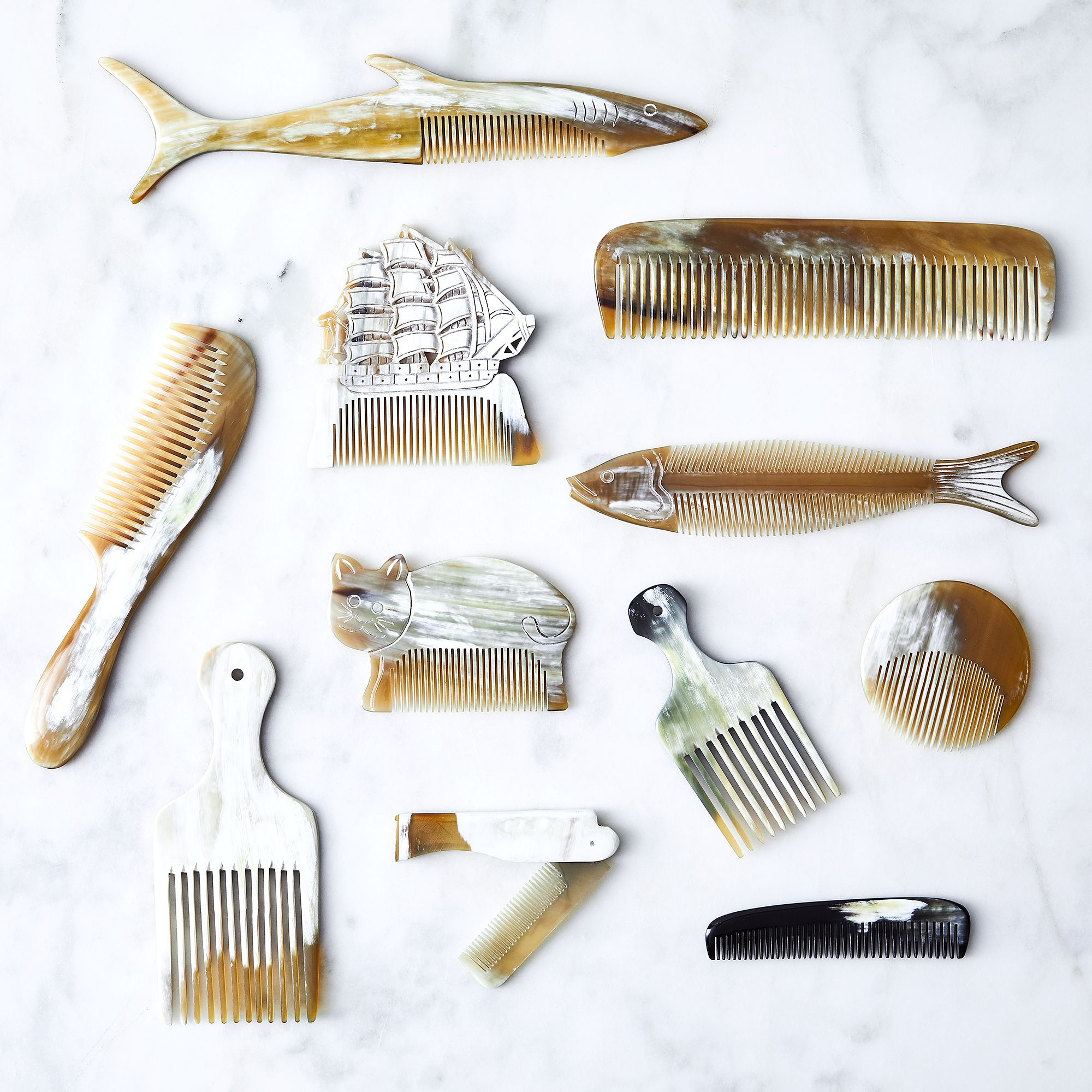 Heirloom Horn Combs on Food52