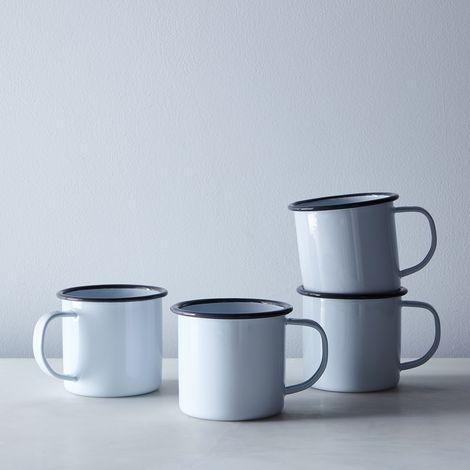 Enamel Mugs (Set of 4)