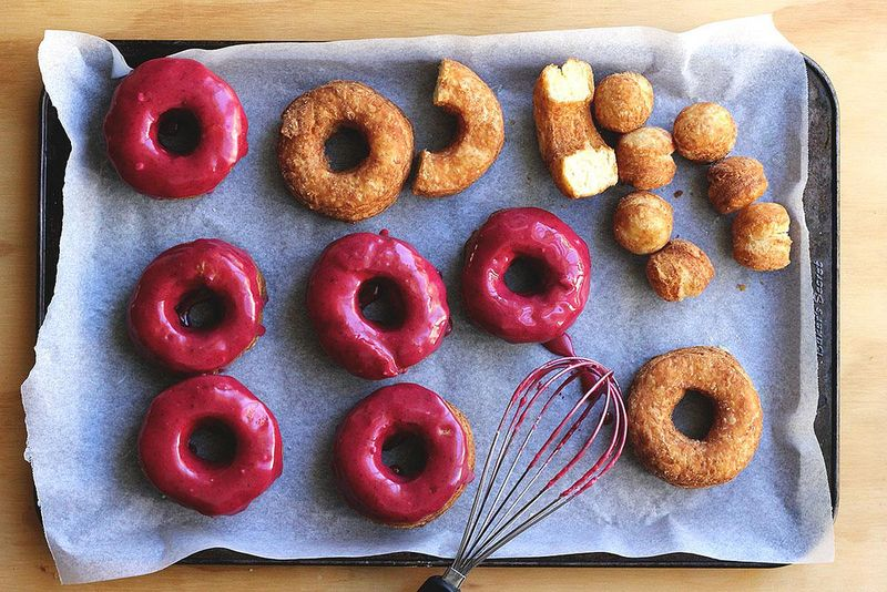 Perfectly fried biscuit-doughnuts.