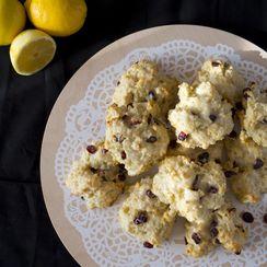 Lemon Cranberry Buttermilk Biscuits