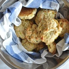 Savory oat, leek, and pecorino scones